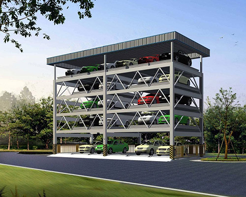 Sistema De Estacionamiento Vertical Con Estable Rendimiento